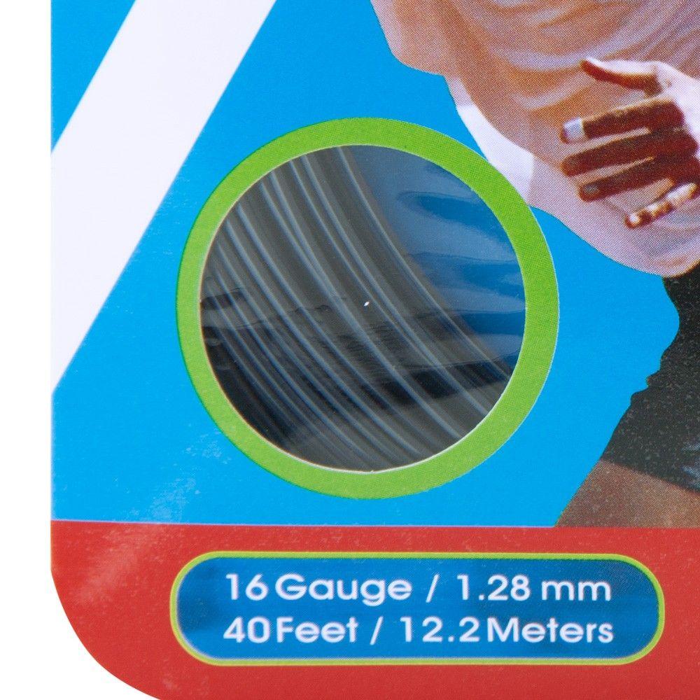 Corda Prokennex IQ Hexa 16L 1.28mm Preta - Set Individual