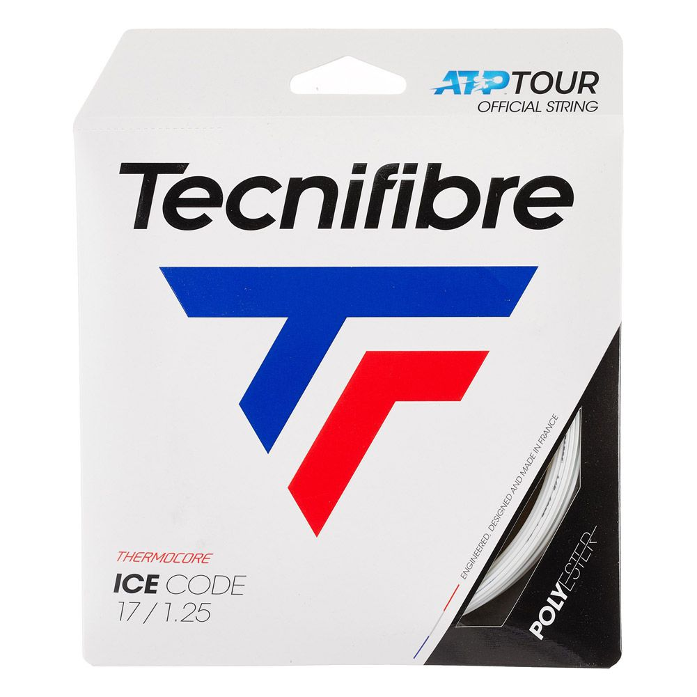 Corda Tecnifibre Ice Code 1.25mm Branca - Set Individual