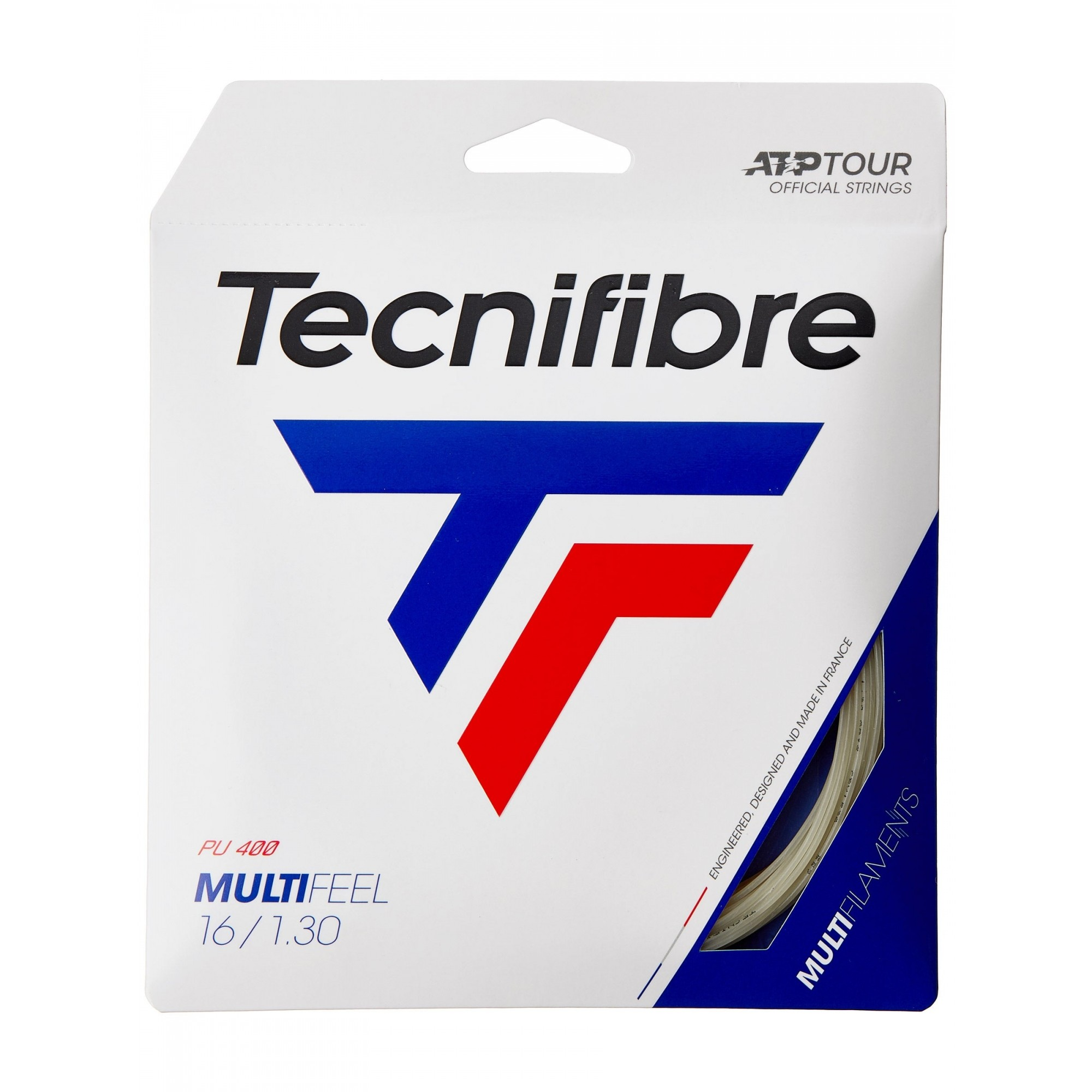 Corda Tecnifibre Multifeel 16 1.30mm Natural - Set Individual