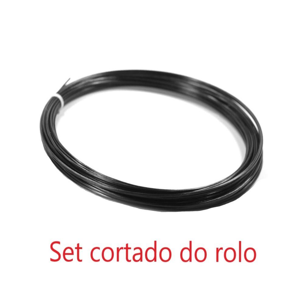 Corda Tecnifibre Multifeel 16 1.30mm Rosa - Set Individual