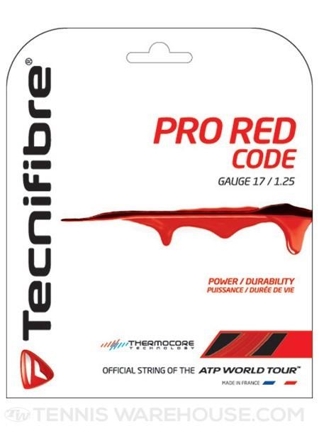 Corda TecniFibre Pro Red Code Vermelha 16L 1.25mm Set Individual