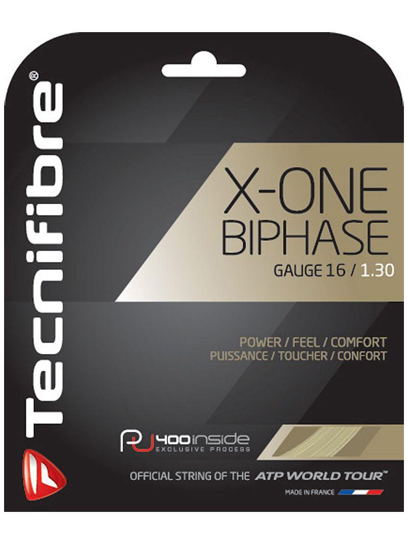Corda Tecnifibre X-One Biphase 1.30mm - Set Individual