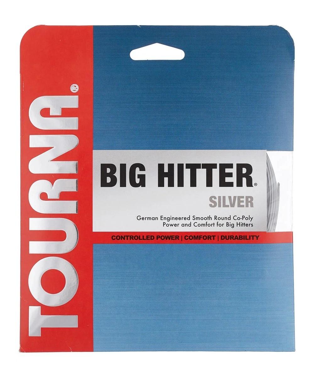 Corda Unique Tourna Big Hitter Silver 1.20mm Set Individual Cinza