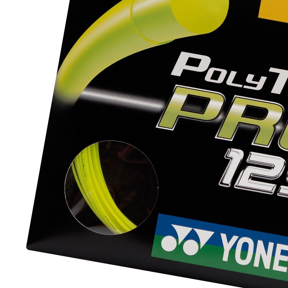 Corda Yonex Poly Tour Pro 1.25 Set Individual Amarelo