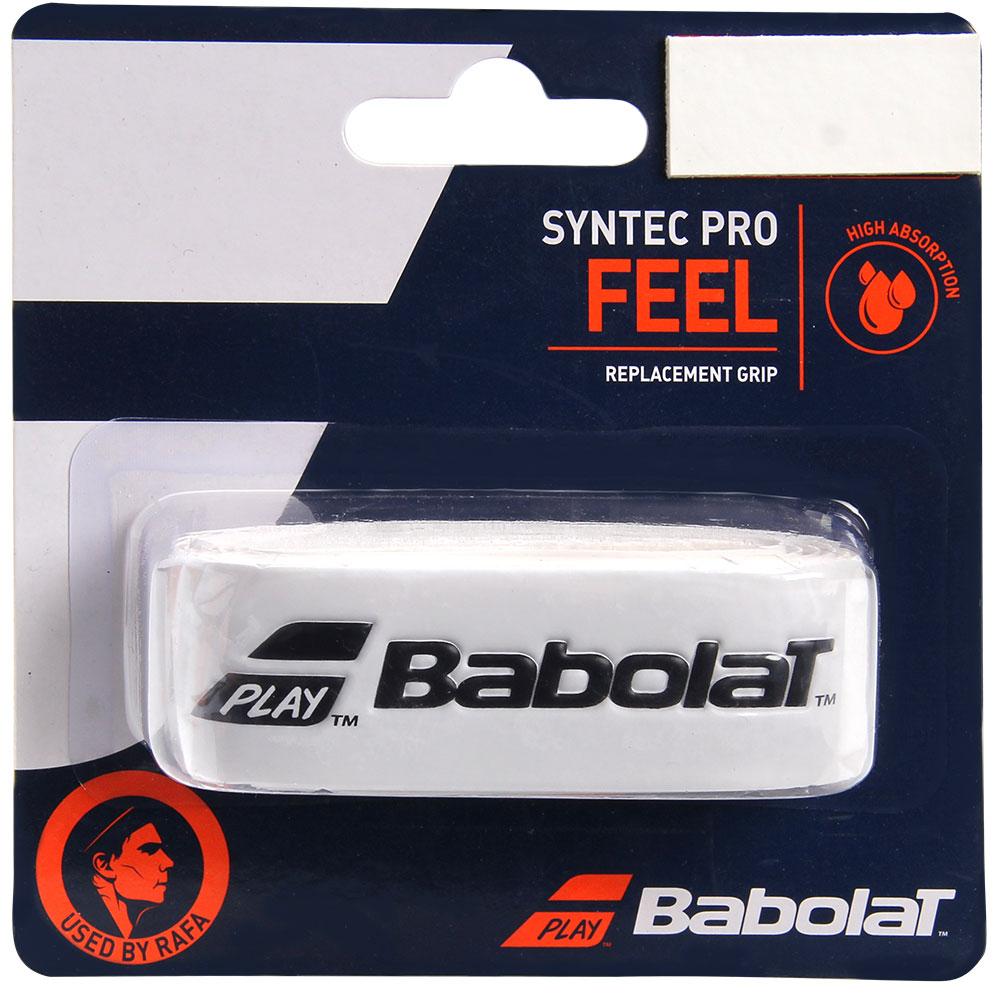 Cushion Grip Babolat Syntec Pro Branco e Preto