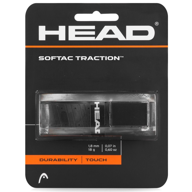 Cushion Grip Head Softac Traction Preto
