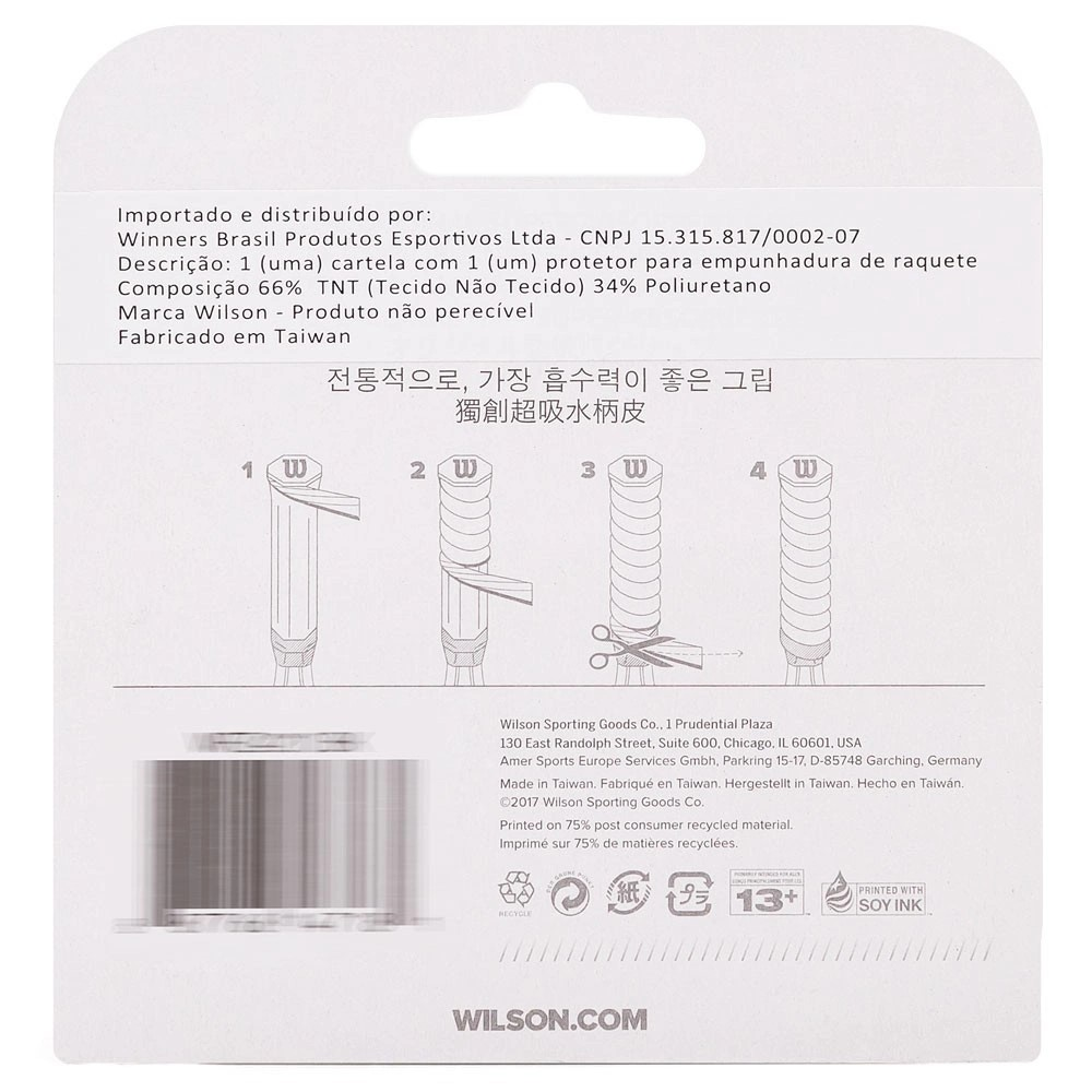 Cushion Grip Wilson Classic Perforated