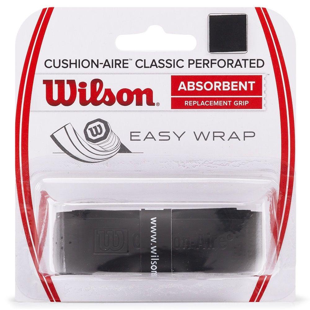 Cushion Grip Wilson Classic Perforated Preto