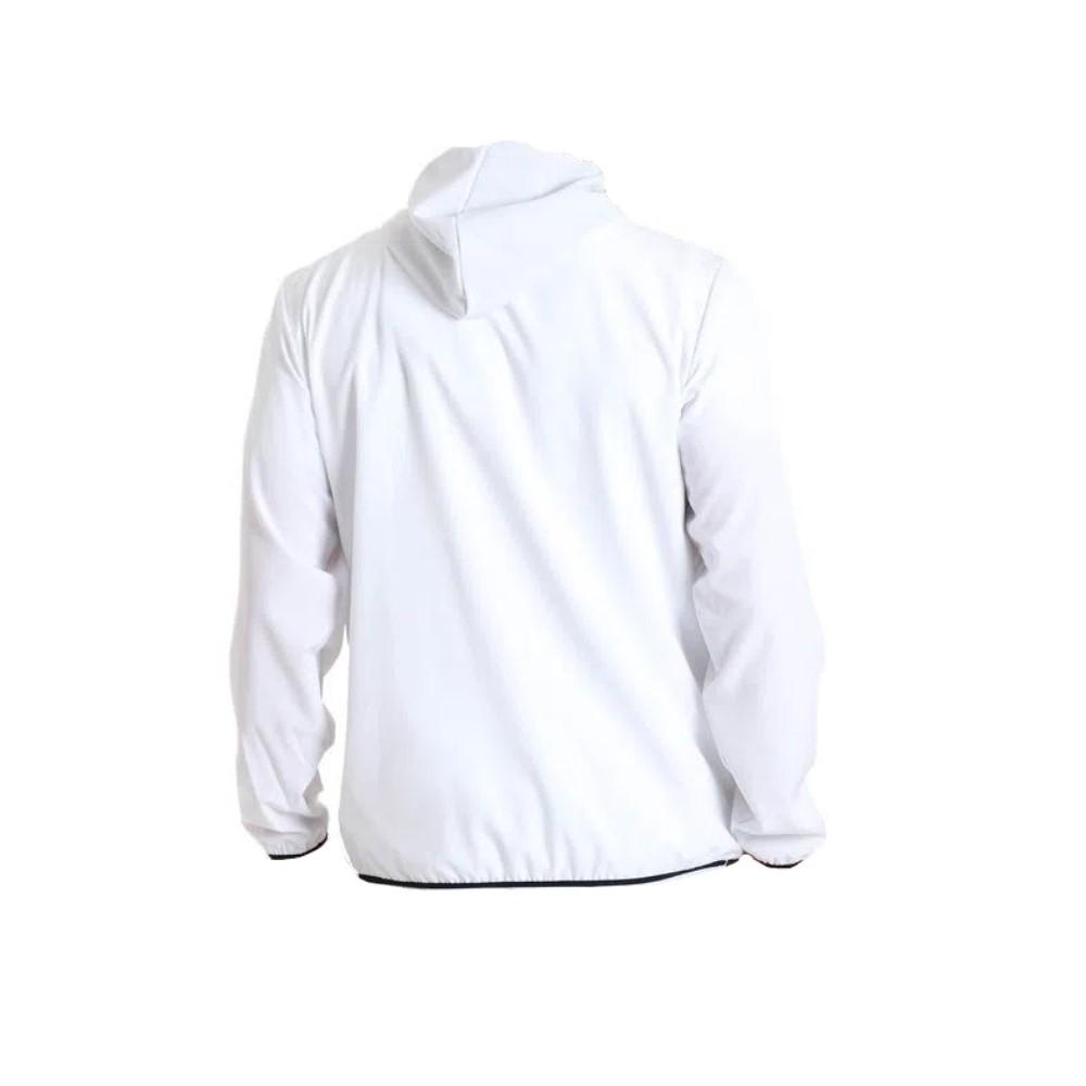 Jaqueta Corta Vento Head Com Capuz Branco - Masculino