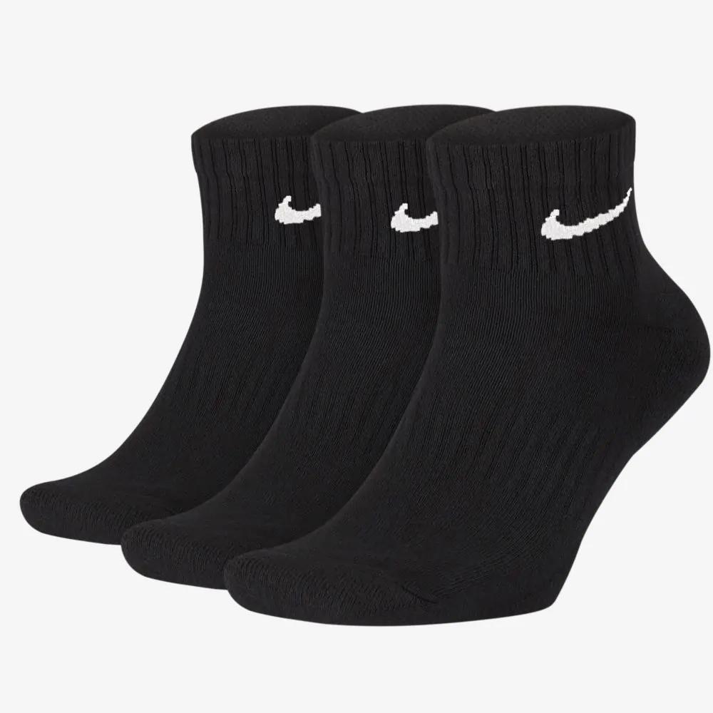 Meia Nike Cano Médio Cushion Ankl Com 03 Pares