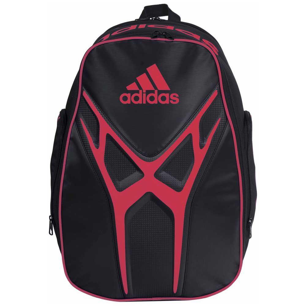 Mochila Adidas Adipower 1.9 Preta e Vermelha