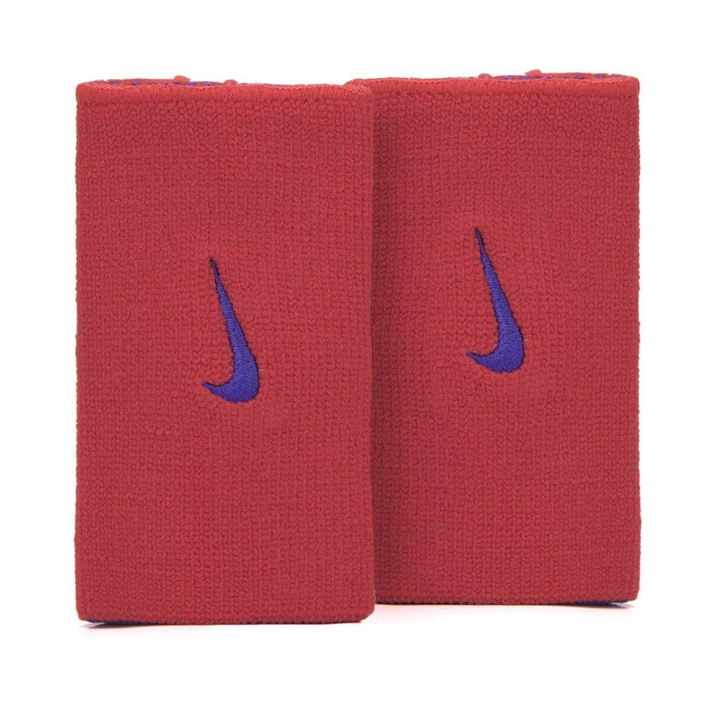 Munhequeira Nike Dri-Fit Home & Away Vermelho e Marinho