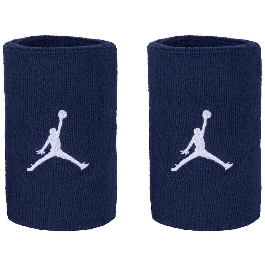 Munhequeira Nike Longa Jordan Marinho e Branco