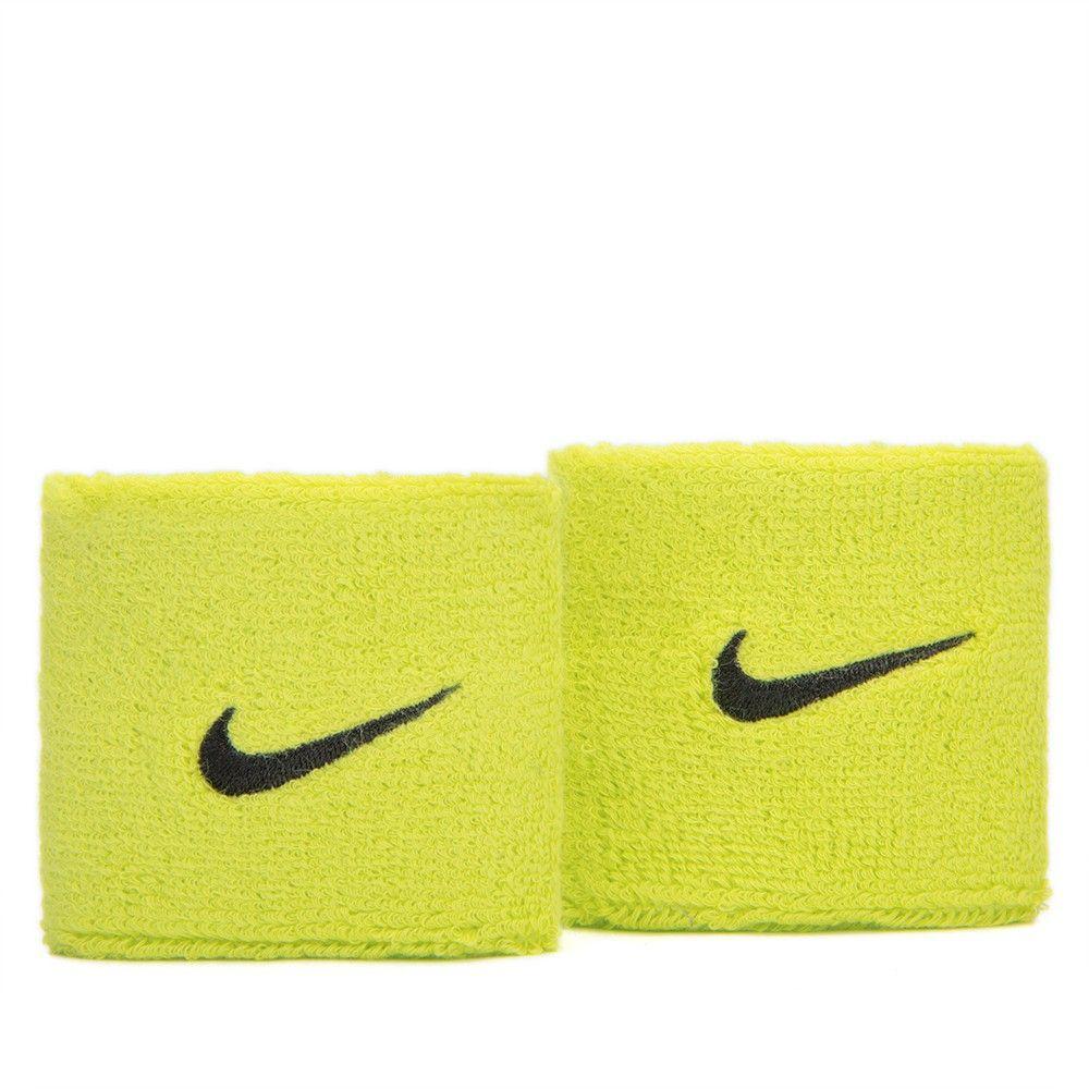 Munhequeira Nike Pequena Swoosh  Verde e Preta