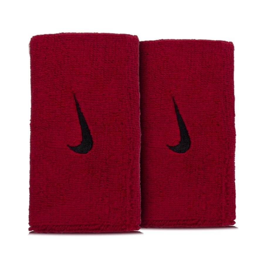 Munhequeira Nike Swoosh Longa Vermelho e Preto