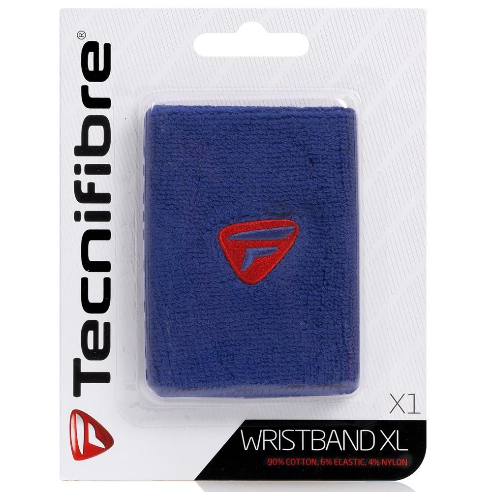 Munhequeira Tecnifibre Azul Grande X1