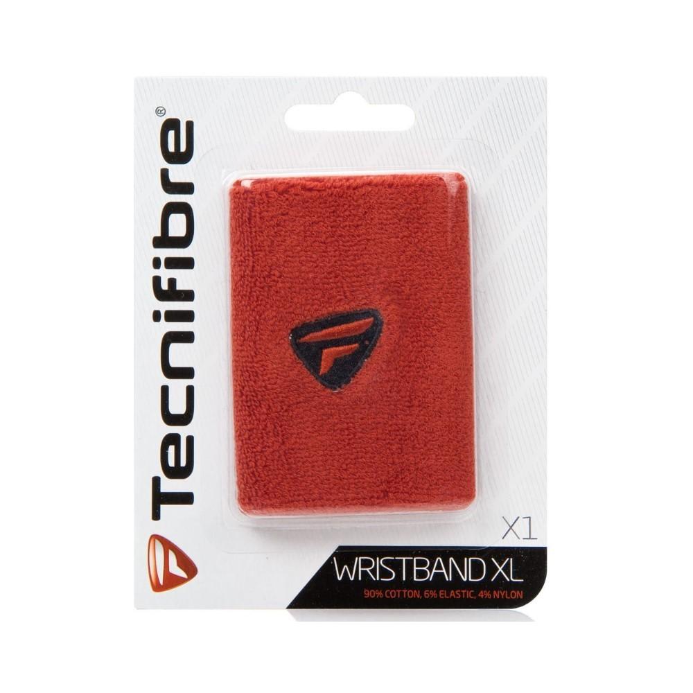 Munhequeira Tecnifibre Vermelha Grande X1