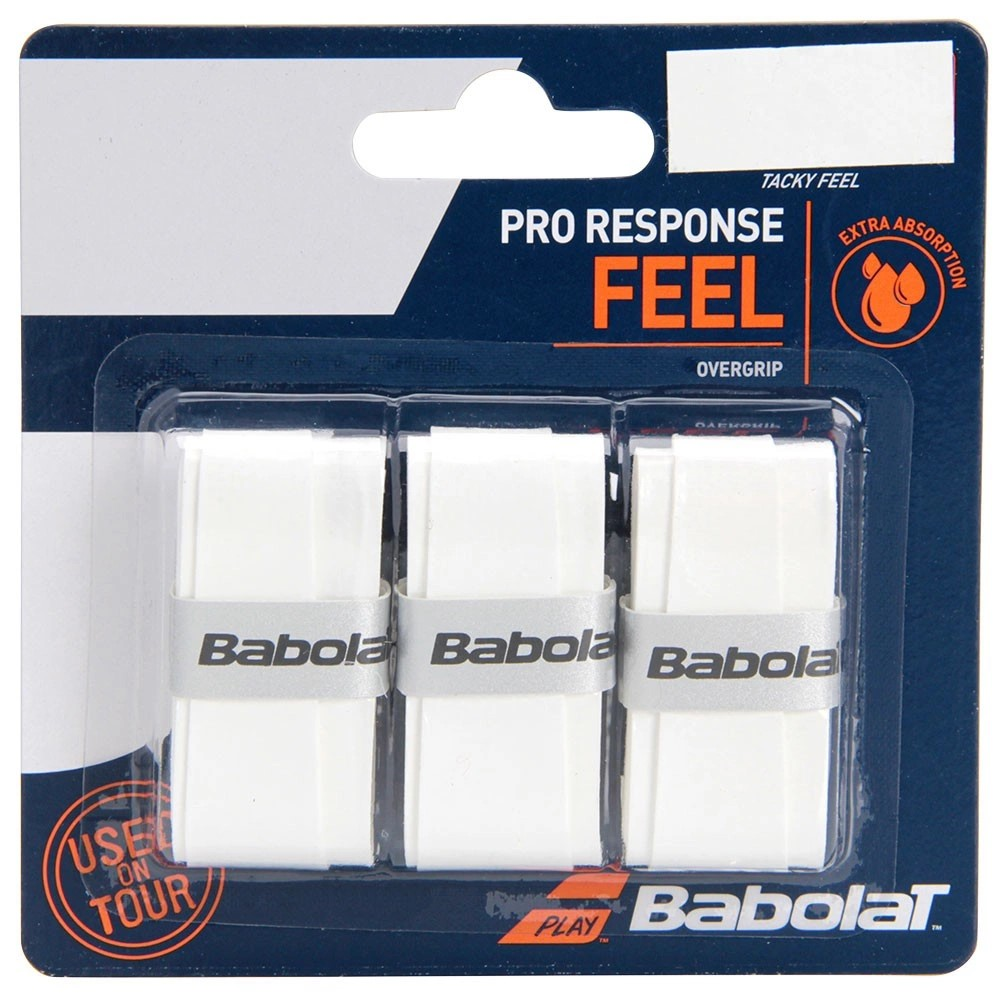 Overgrip Babolat Pro Response Feel Com 03 Unidades