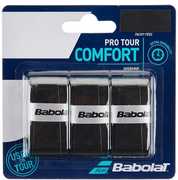 Overgrip Babolat Pro Tour Com 03 Unidades Preto