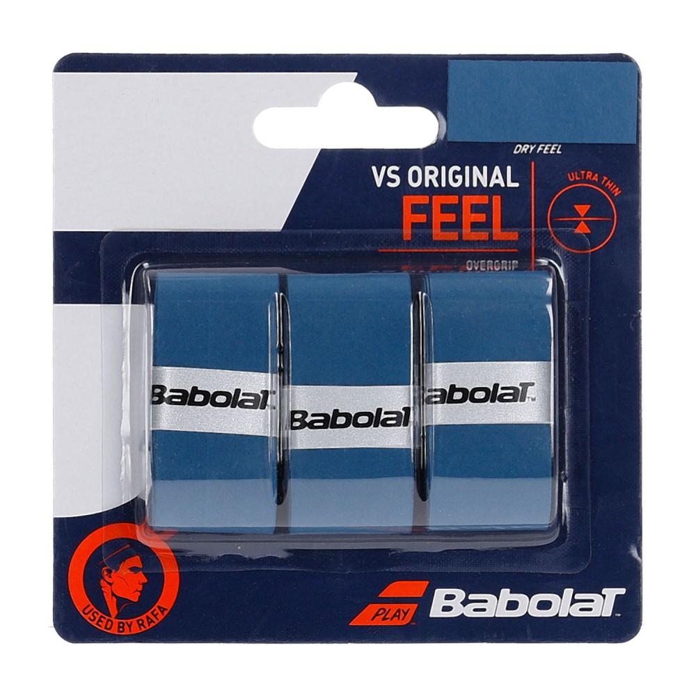 Overgrip Babolat VS Original Azul Com 03 Unidades