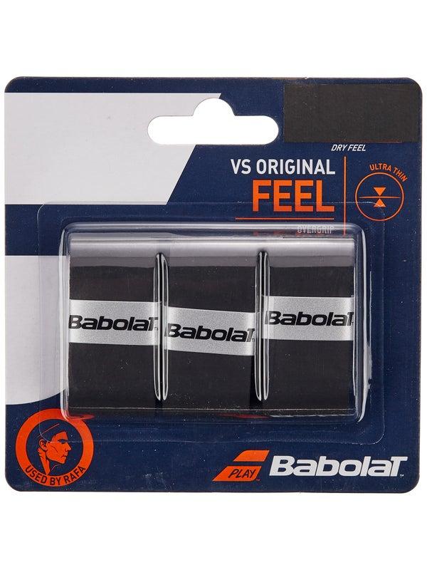 Overgrip Babolat VS Original Preto Com 03 Unidades