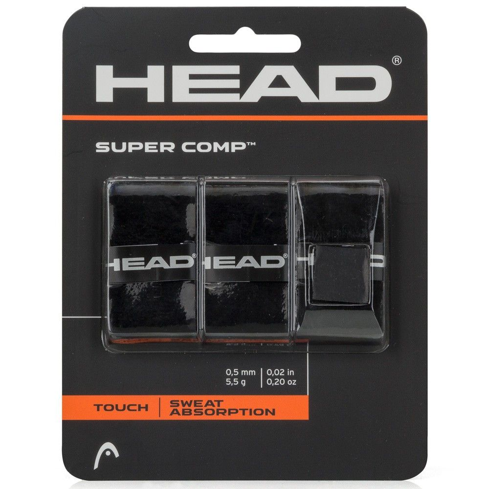 Overgrip Head Super Comp Preto
