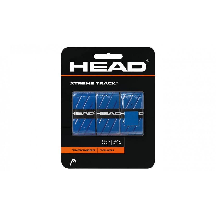 Overgrip Head Xtreme Track Azul Com 03 Unidades