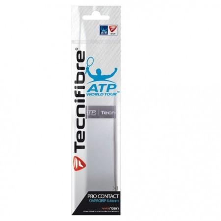 Overgrip Tecnifibre Pro Contact ATP Individual Branco - 0.6mm