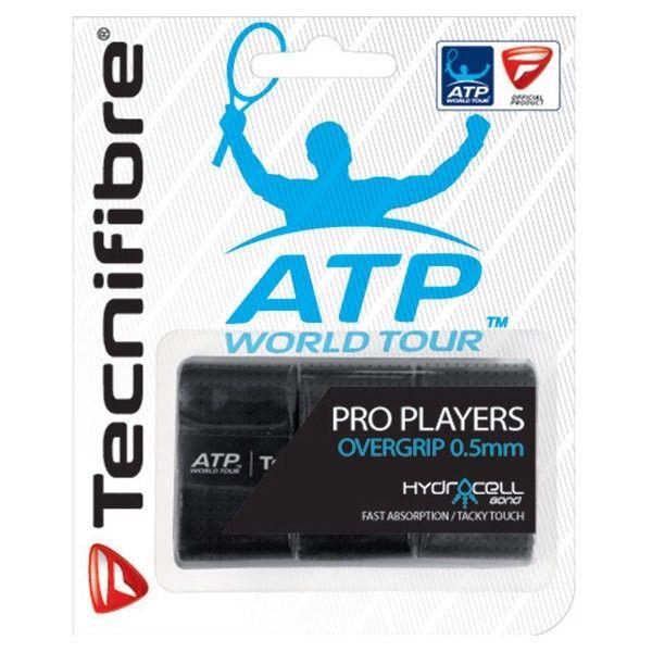 Overgrip Tecnifibre Pro Players ATP com 03 Unidades Preto