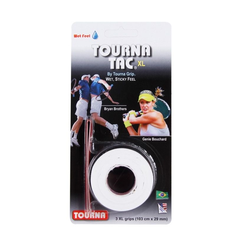 Overgrip Unique Tourna Tac XL Brancol Com 03 Unidades