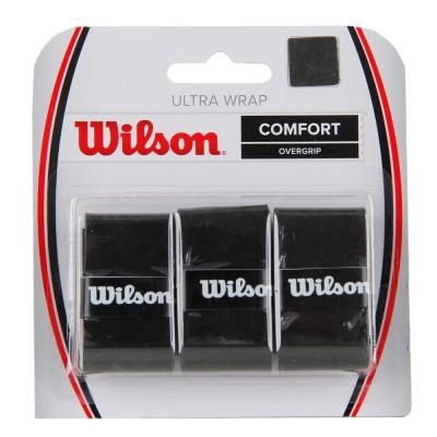 Overgrip Wilson Ultra Wrap Preto Com 03 unidades