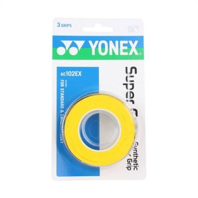 Overgrip Yonex Super Grap com 03 Unidades Amarelo