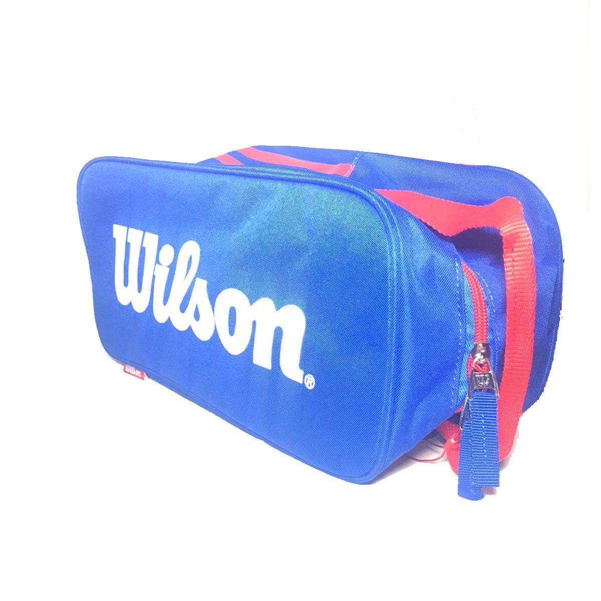 Porta Calçado Wilson Azul e Vermelho