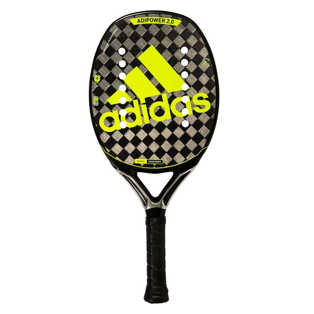 Raquete de Beach Tennis Adidas Adipower 2.0 Preto e Amarelo