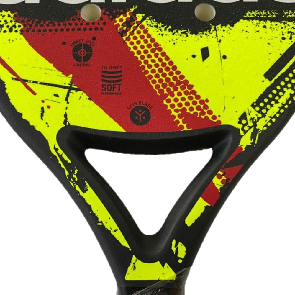 Raquete de Beach Tennis Adidas BT 3.0 Amarela e Vermelha