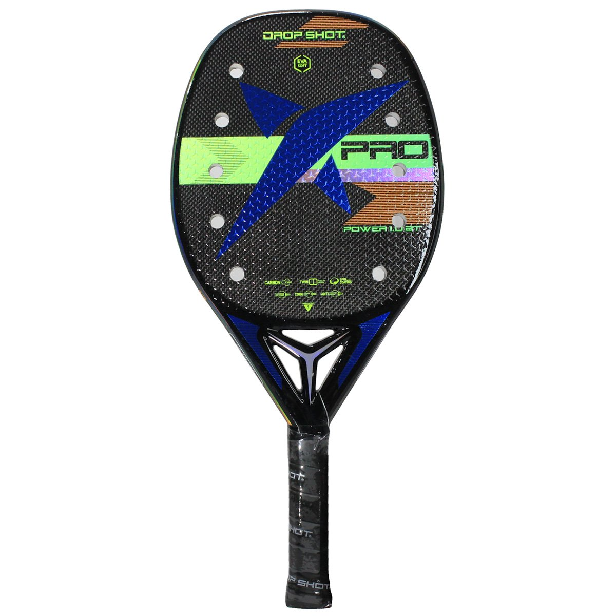 Raquete de Beach Tennis Drop Shot Power 1.0