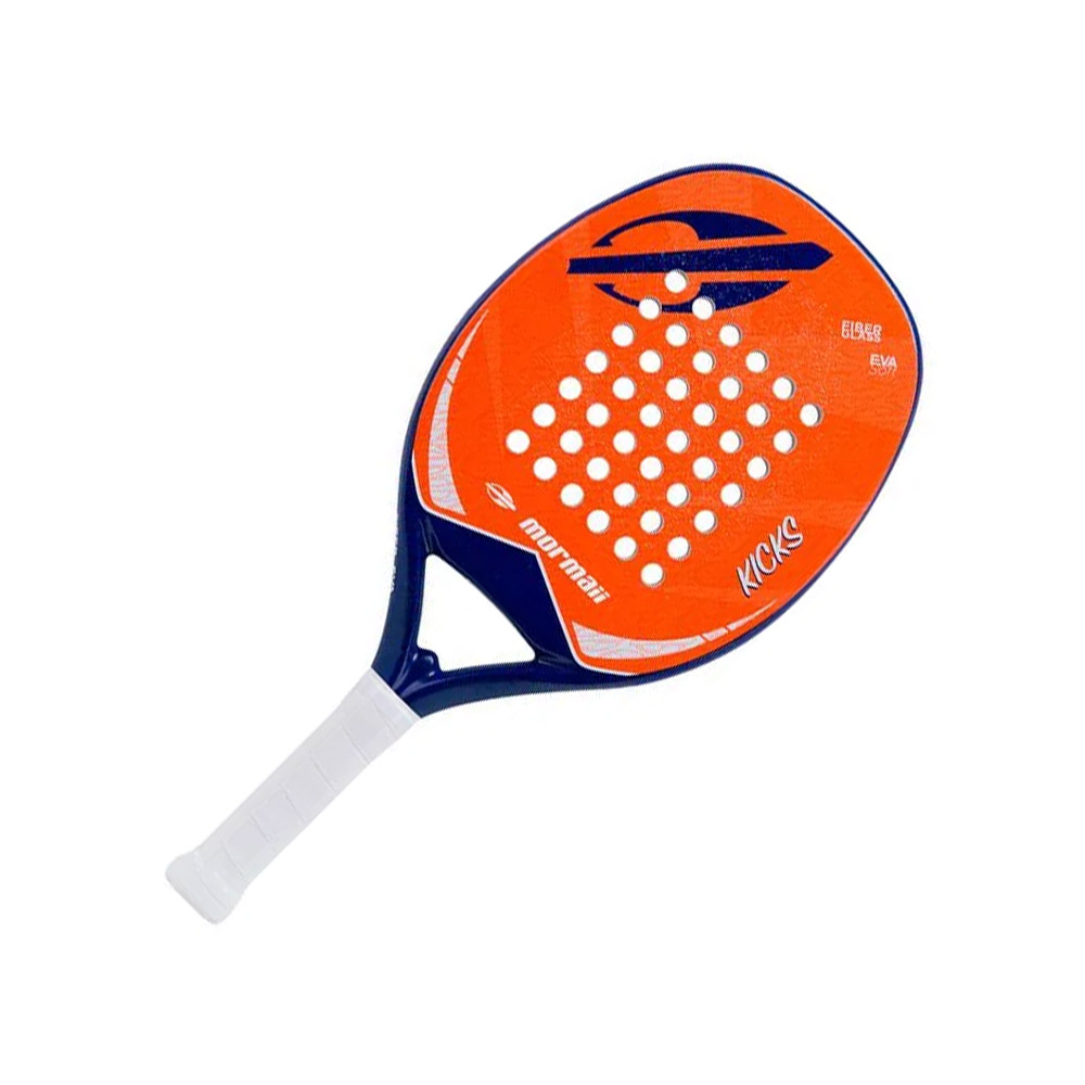 Raquete De Beach Tennis Mormaii Kicks Laranja
