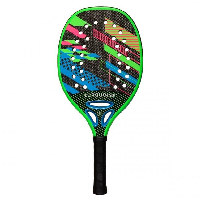 Raquete de Beach Tennis Turquoise Revolution Azul 2020