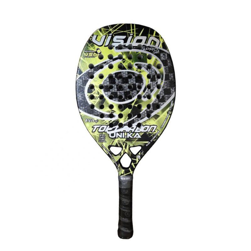 Raquete de Beach Tennis Vision Top Carbon Uni.ka 2020