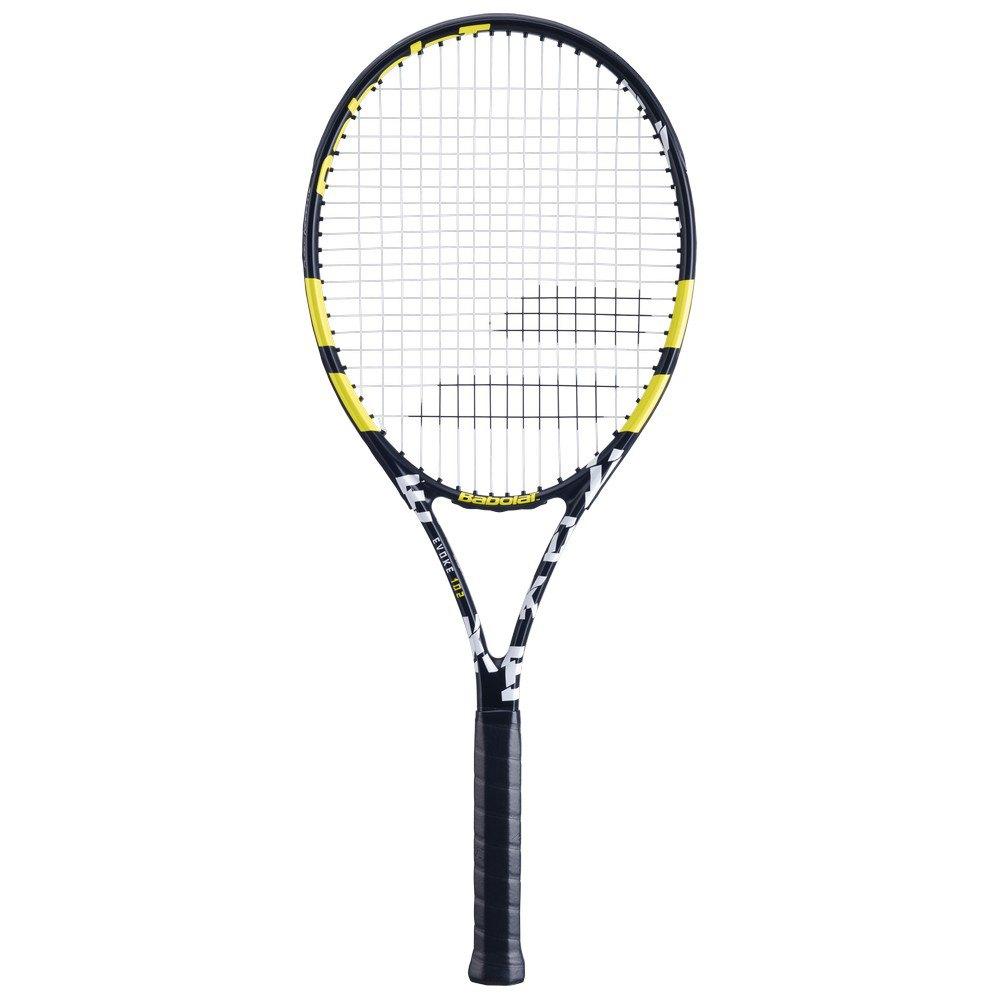 Raquete de Tênis Babolat Evoke 102 Preta e Amarela