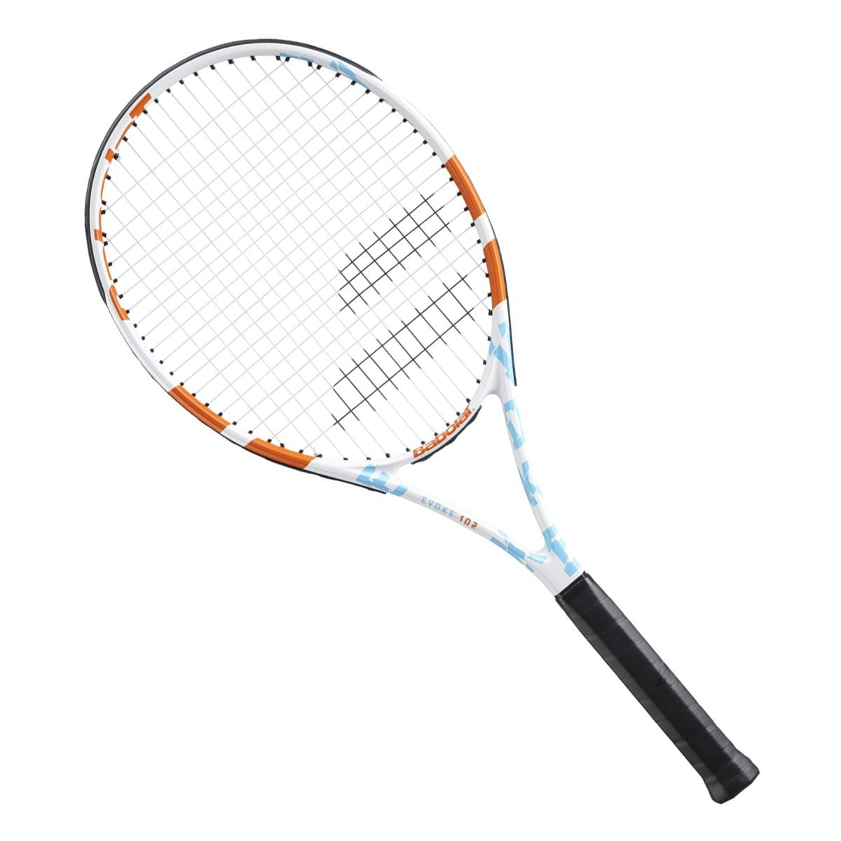Raquete de Tênis Babolat Evoke 102 Women Branca e Vermelha