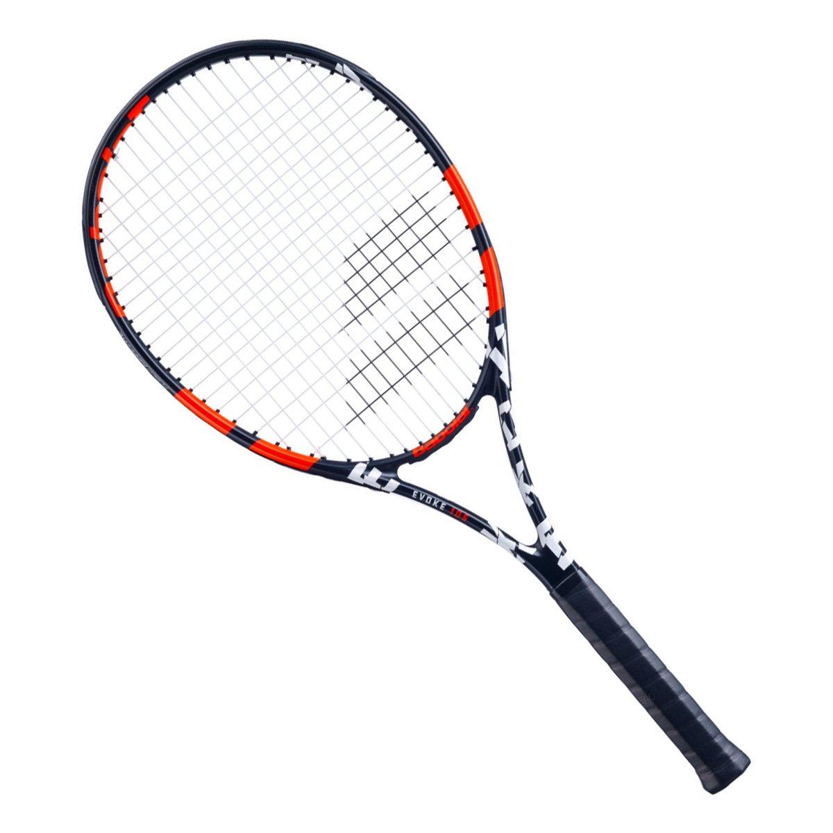 Raquete de Tênis Babolat Evoke 105 Preto e Vermelho