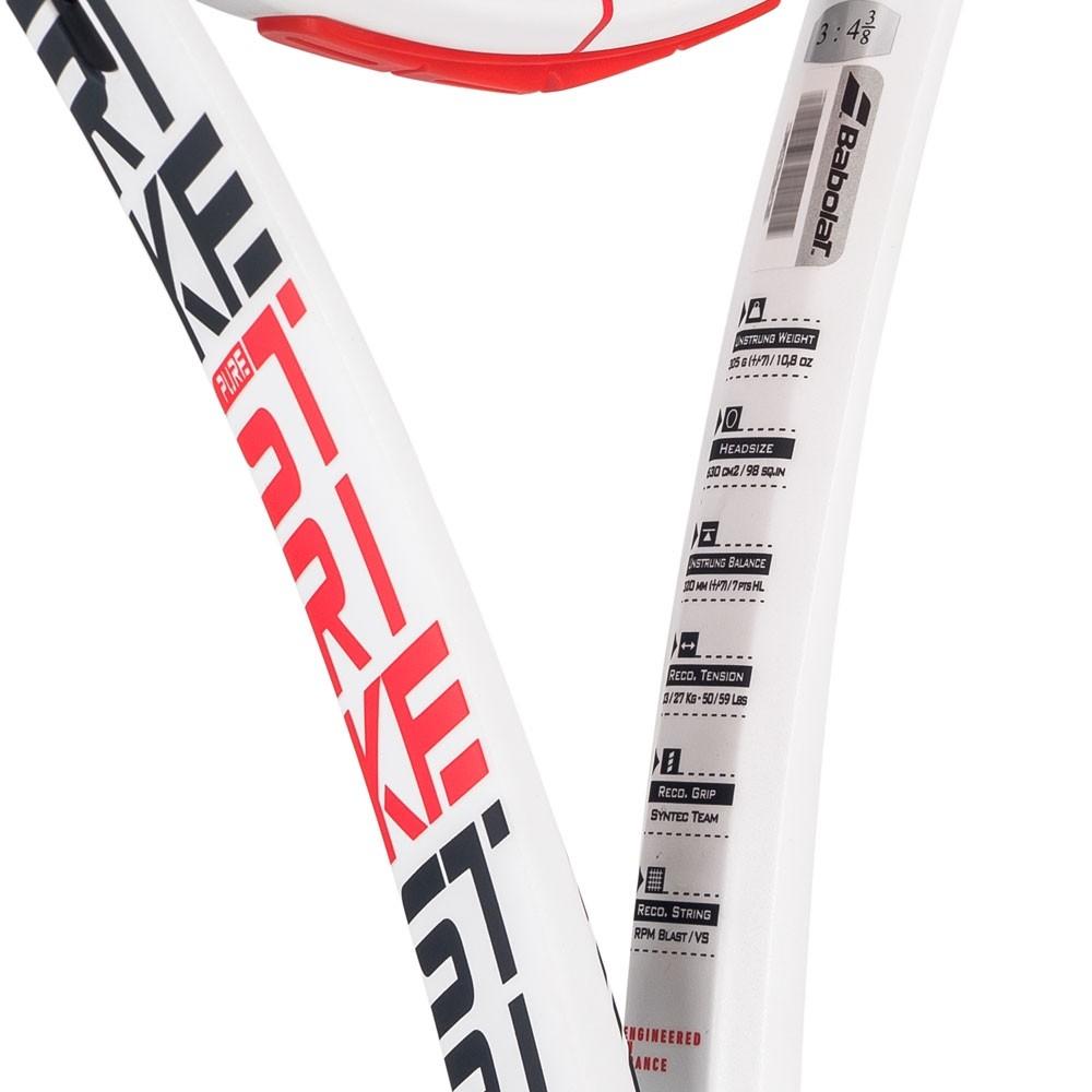 Raquete De Tênis Babolat Pure Strike 98 305G 16x19