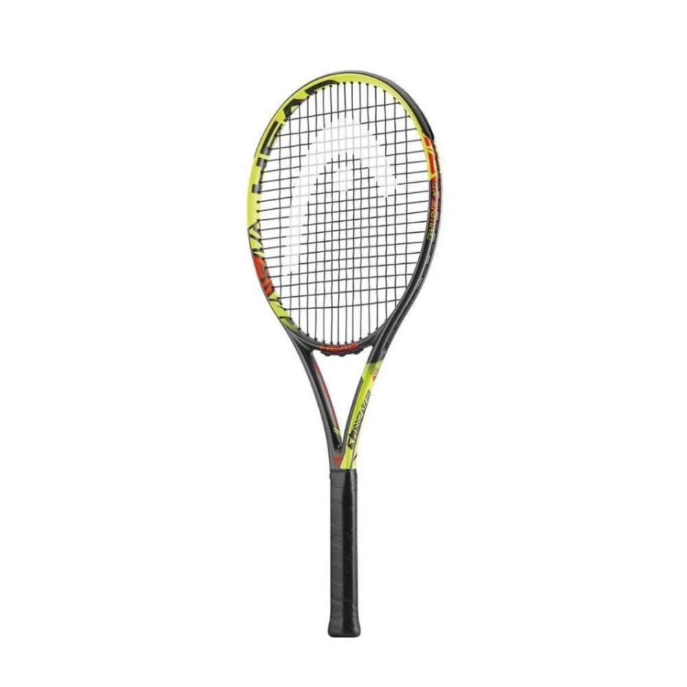 Raquete de Tênis Head Challenge MP - Preta e Amarelo