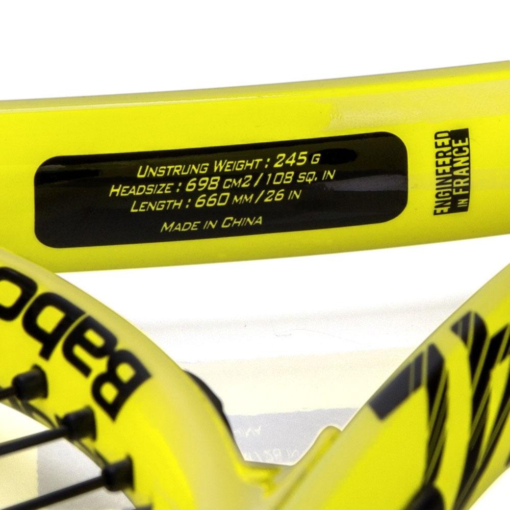 Raquete De Tênis Infantil Babolat Nadal 26 2021
