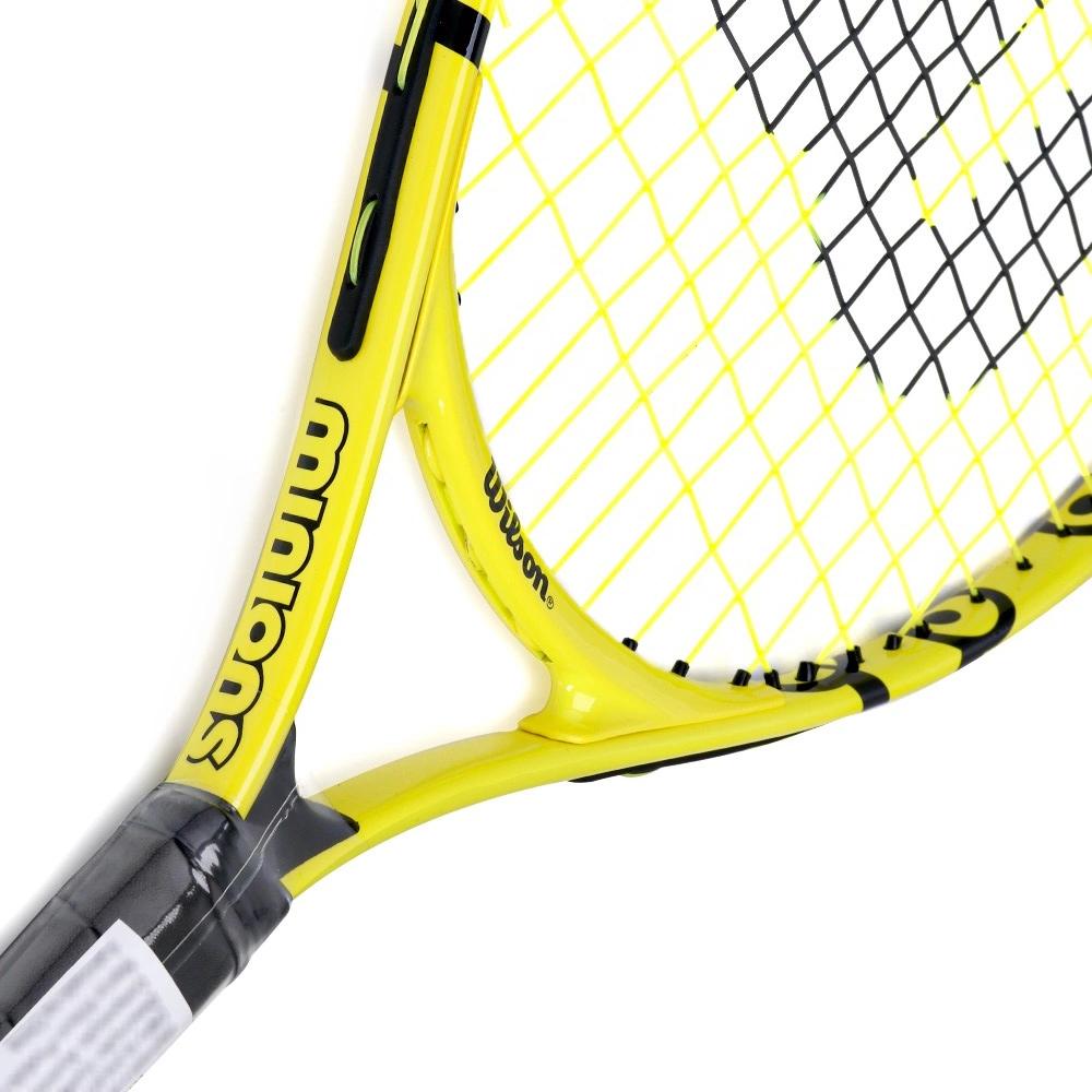 Raquete De Tênis Infantil Wilson Minions 23 2021