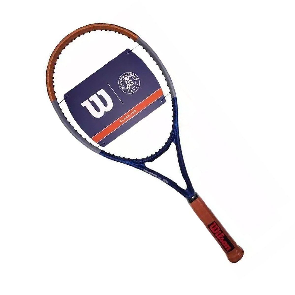Raquete de Tênis Wilson Clash 100 - Roland Garros 2020