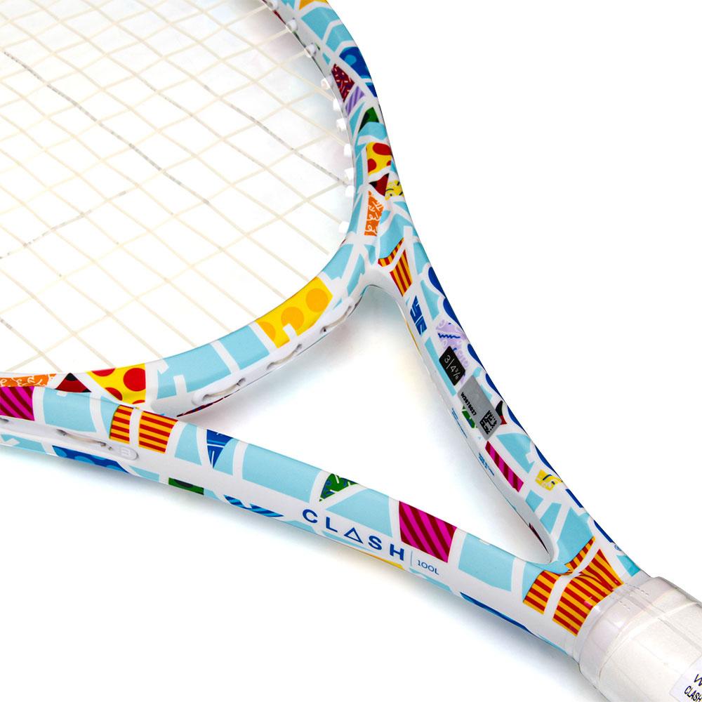 Raquete de Tênis Wilson Clash 100L Romero Britto