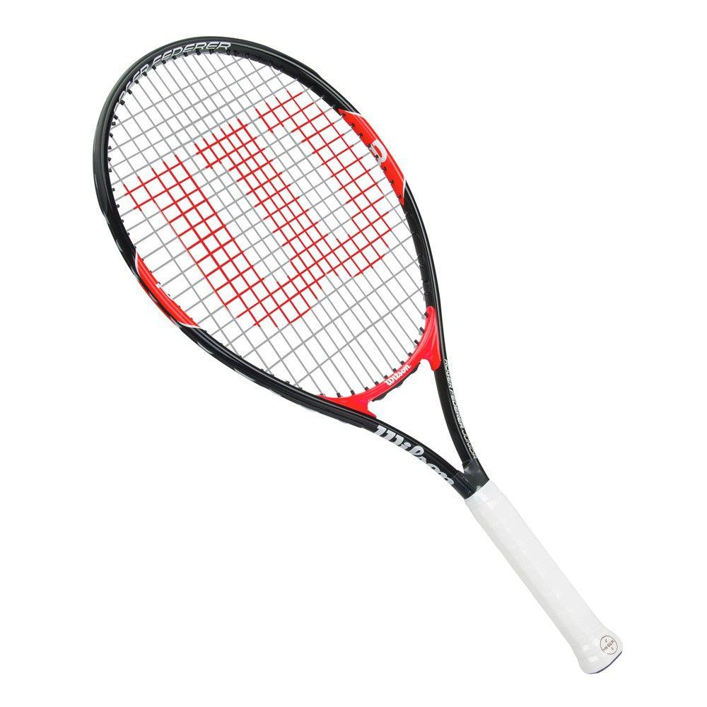1363caa6b4 Raquete de Tênis Wilson Infantil Federer 26