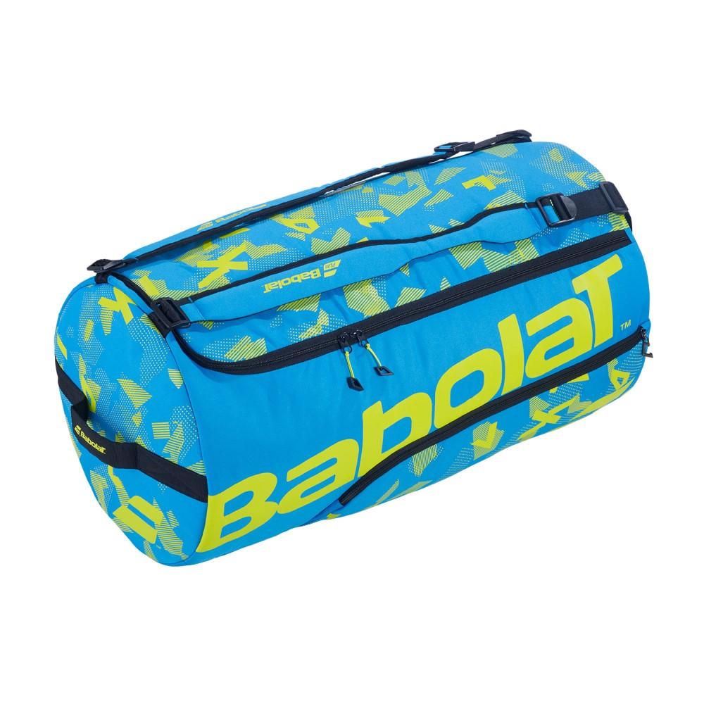 Raqueteira Babolat Duffle XL Performance Azul e Amarelo